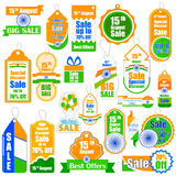 Promotional and advertisement sale tag Royalty Free Stock Photos