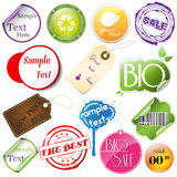 Promotional elements Stock Photo