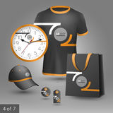 Promotional elements design Royalty Free Stock Photo