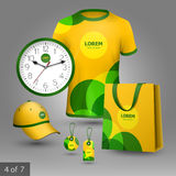 Promotional elements design Stock Images