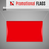 Promotional flag Stock Photos