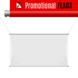 Promotional flag Royalty Free Stock Photos
