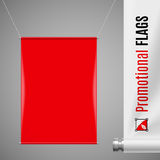 Promotional flag Stock Photography