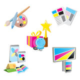 Promotional Items Icons Stock Image