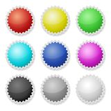 Promotional Stickers. Colorful Vector Labels. Royalty Free Stock Photo