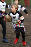 Promotional tournament of youth rugby Royalty Free Stock Photography