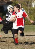 Promotional tournament of youth rugby. 20 teams of north Italy, with children under 11 years, have participated in a tournament of youth rugby in Pordenone ( Stock Image