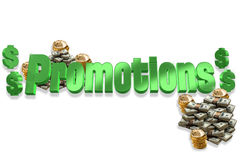 Promotions Royalty Free Stock Images