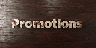Promotions - titre en bois sale sur l'érable - image courante gratuite de redevance rendue par 3D Photos libres de droits