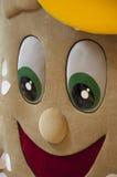 promouter软的布料  三明治 库存图片