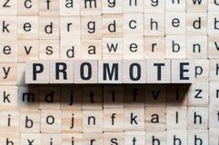 Promova o conceito da palavra imagens de stock royalty free