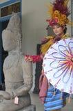 Promovendo o museu de Radya Pustaka em Surakarta, Java central, Indonésia Fotos de Stock Royalty Free