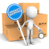 Prompt shipping Stock Photography