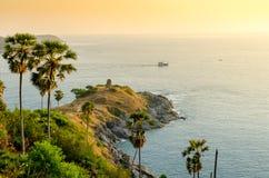 Promthep Cape (Laem Prom Thep), Phuket, Thailand Stock Photography