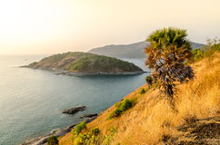 Promthep Cape (Laem Prom Thep), Phuket, Thailand Royalty Free Stock Photos