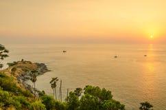 Promthep Cape (Laem Prom Thep), Phuket, Thailand Royalty Free Stock Photo