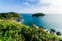 Promthep Cape, landmark of Phuket, Thailand Royalty Free Stock Photo