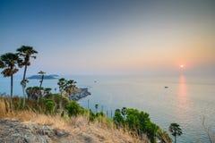 Promthep Cape in Phuket Stock Photo