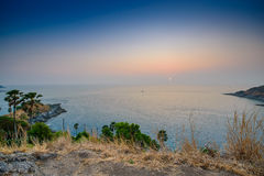 Promthep Cape in Phuket Royalty Free Stock Photo