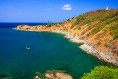 Promthep Cape, Phuket, Thailand. Promthep Cape - the sounthern most point of Phuket Island, Thailand Stock Photos