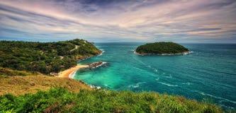 Promthep Cape Phuket Thailand Royalty Free Stock Photos