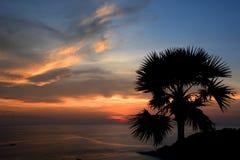 Promthep Cape sunset. Phuket. Thailand Royalty Free Stock Image