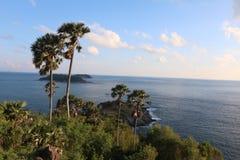 Background. Promthep cave Phuket Thailand royalty free stock photos