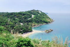 Promthep udde på den Phuket ön Royaltyfri Bild