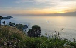 Promthep udde Phuket, Thailand Fotografering för Bildbyråer