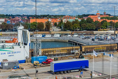 Promu embarkation Fotografia Stock