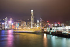 promu Hong kong Fotografia Stock