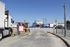 Promu Terminal w Portowym Melbourne Zdjęcia Royalty Free