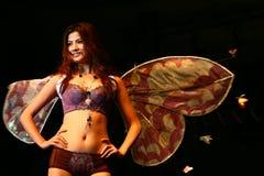 Promulgator of underwear Royalty Free Stock Photo