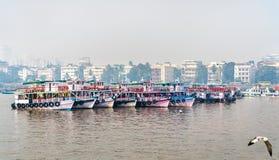 Promy blisko bramy India w Mumbai, India Zdjęcie Stock