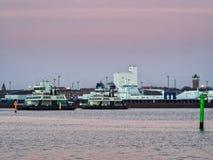 Promy od Esbjerg Fano w Wadden morzu Fotografia Royalty Free
