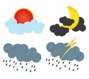 Pronóstico Stock de ilustración