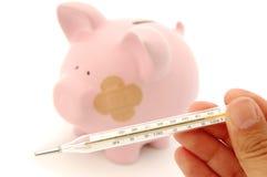 Pronóstico financiero Foto de archivo libre de regalías