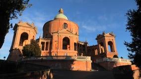 Pronaos e facciata di San Luca video d archivio