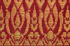 Prong Pattern Thai Silk Stock Images