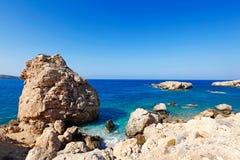Proni en Karpathos, Grecia Imágenes de archivo libres de regalías