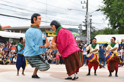 Pronk met dans van Kambodja stock fotografie