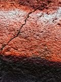 Pronounced effect crack in a wall. With extra textures Royalty Free Stock Images