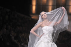 Pronovia Barcelona 2014 Bridal tydzień zdjęcie royalty free