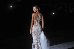 Pronovia Barcelona 2014 Bridal tydzień Fotografia Royalty Free
