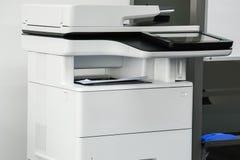 Pronta per la stampa multifunzionale della macchina della stampante, copia, documenti d'esplorazione di affari immagine stock libera da diritti