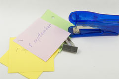 Pronto 1 de septiembre Imágenes de archivo libres de regalías