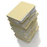 Pronto impilato archivi per archivare illustrazione vettoriale