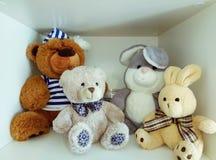 Pronto a la guardería Mientras que juguetes Foto de archivo libre de regalías
