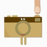 Pronto para a reprodução fotográfica para disparar Fotografia de Stock