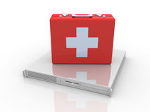 Pronto soccorso del server Fotografia Stock